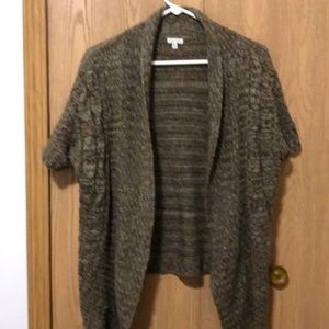 Maurice's size XL cardigan sweater brown